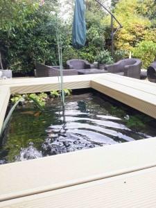 decked pond
