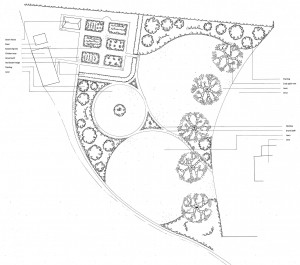 design a traditional garden