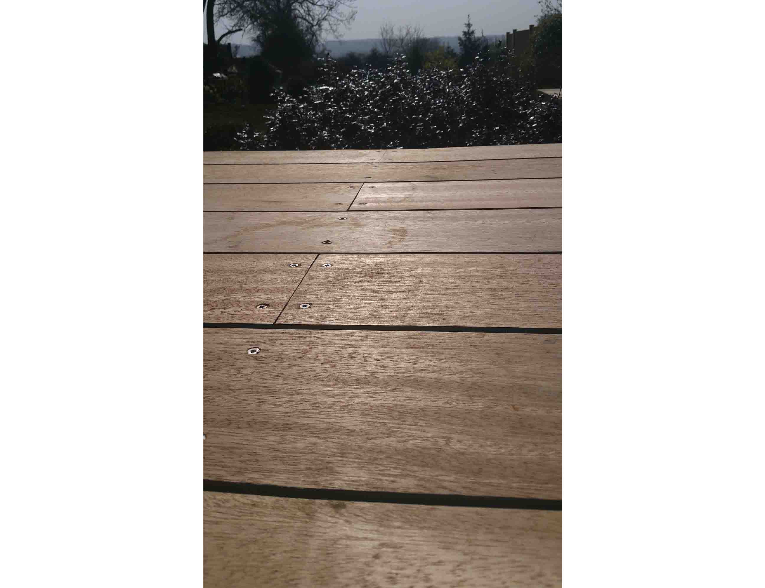 Stonetree Landscapes Portfolio Meranti Hardwood Decking