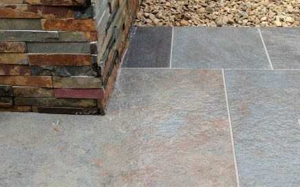 porcelain paving in rutland landscapers
